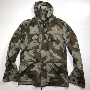 Levi's Camo Jacket Stowaway Hood
